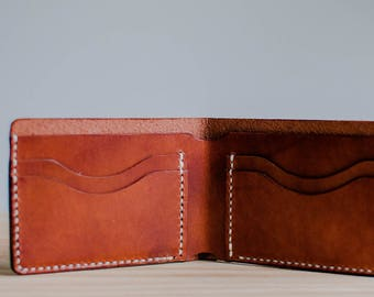 4 Card Leather Wallet