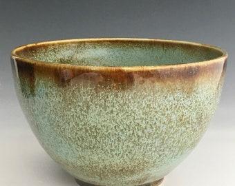 Large Ceramic Serving Bowl Handmade Bowl    18-2