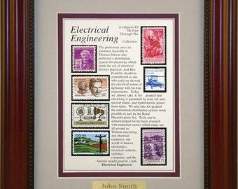Electrical Engineering 3132 - Personalized Framed Collectible (A Great Gift Idea)