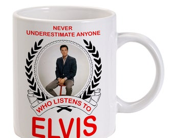 Personalised Elvis Presley Mug