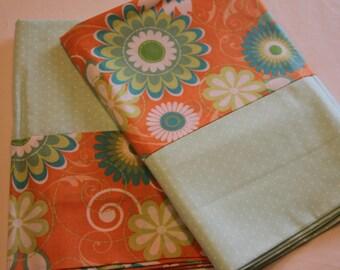 Modern Floral Pillowcases