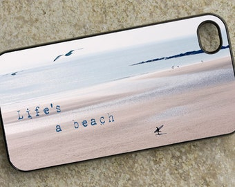 iPhone Cover(all models) - Lifes a beach - smartphone - Mobile - surf - ocean - beach - Samsung Galaxy S3 S4 S5 mini S6 S7 S8 & others
