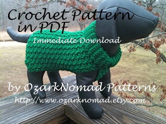 Immediate Download Pdf Crochet Pattern For The Green St