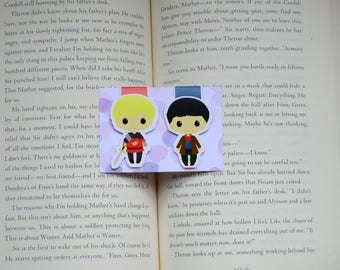 Merlin magnetic bookmark