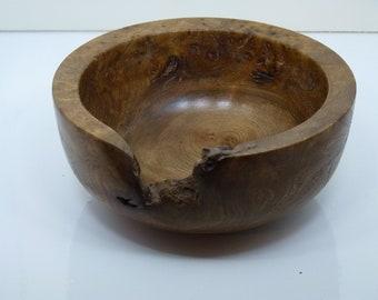 Medium Oak Bur Bowl