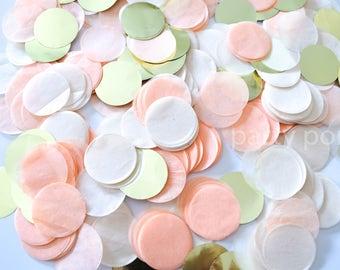Peach & Gold Confetti Mix