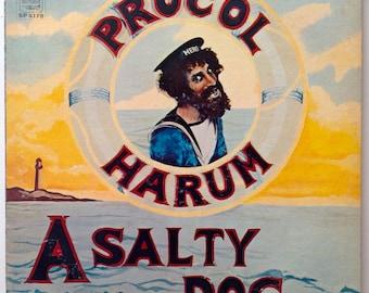 Procol Harum - A Salty Dog LP Vinyl Record Album, A&M Records - SP 4179, Prog Rock, Psychedelic Rock, 1969