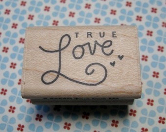 True Love - A Muse Rubber Stamp
