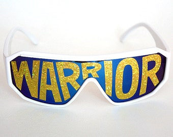 "Rasslor ""WARRIOR"" Shield Sunglasses"
