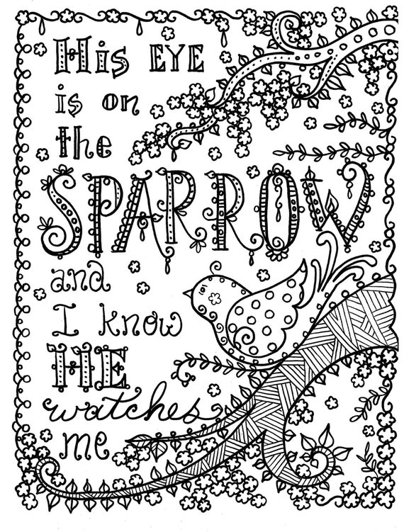 Hymnspiration 4 coloring pages Instant Dowload Art to Color