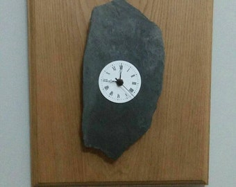 Wood and stone counterclockwise