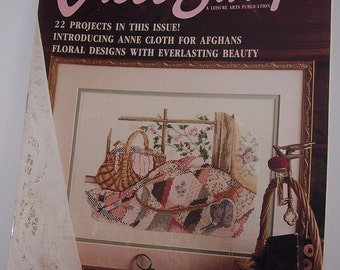 For The Love Of Cross Stitch Magazine Premier Issue 1988 Leisure Arts