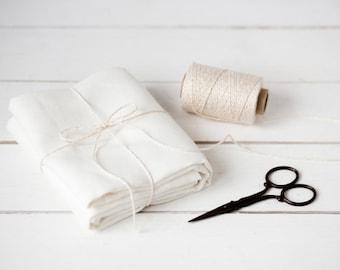 Nappe - nappe en lin - table personnalisée nappes - nappe de mariage rustique - linge de table haut - cadeau de pendaison de crémaillère blanc