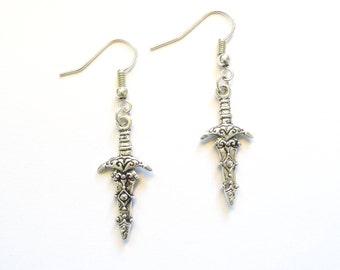 Dagger Dagger Earrings