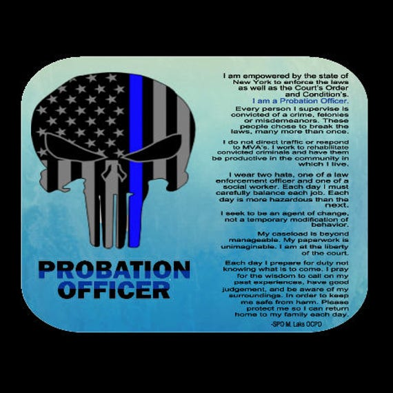 Probation Officer Mousepad