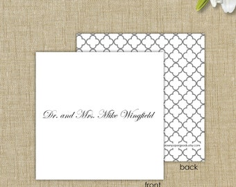 Gift enclosure cards with envelopes. Traditional Gift Enclosure Card