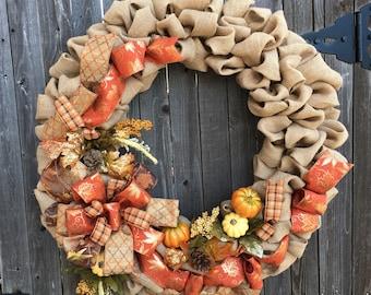 Xtra large Fall Wreath