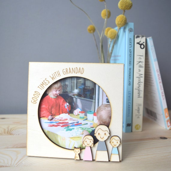Personalised Picture Frame - Father's Day gift - Keepsake for Dad - Gift for Grandad - Fathers Day