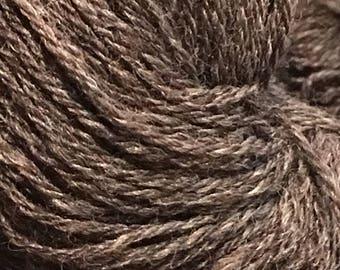 Natural Dark CVM sock yarn