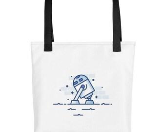 R2-D2 Printed Tote bag