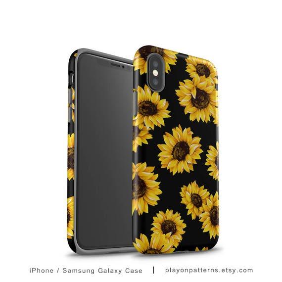 sunflower iphone 8 case