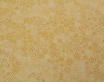 Wilmington Prints - Essentials - Yellow Swirls and Dots, 1817-555