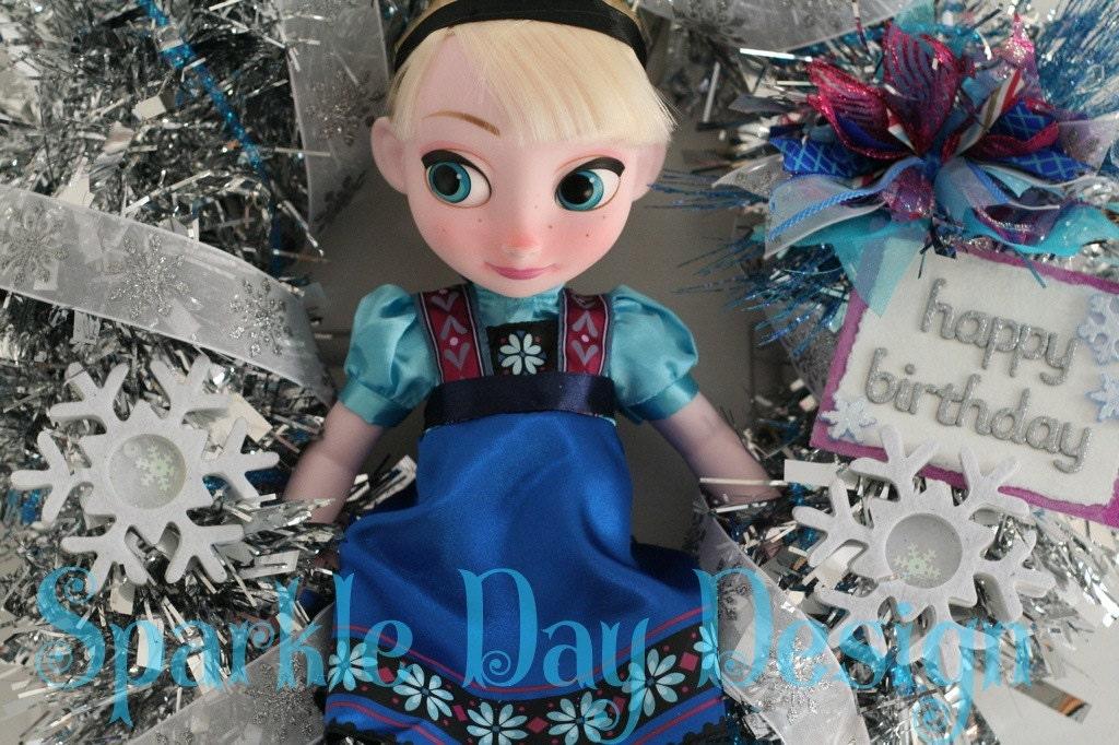 Elsa Doll Disney Frozen Birthday Decorations Frozen Party