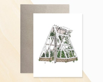 Greenhouse Greeting Card, Greenhouse Gardening, Greenhouse Designs, Greeting Card Messages, Birthday Card Greetings, Birthday Card Wishes