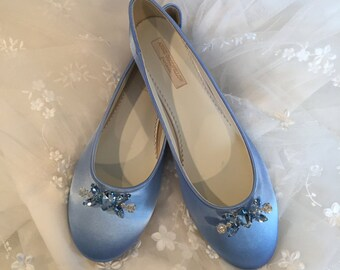 Sapphire Blue Flats Royal Blue Wedding Shoes Wedding Shoes