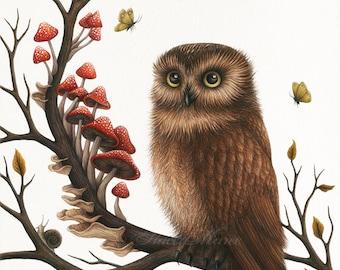 Wildwood - Fine Art Illustration - Print