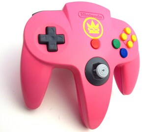 Nintendo 64 Custom Princess Peach Controller