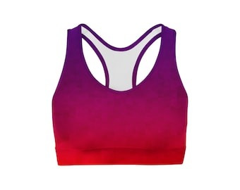 Stained Triangles Sports Bra