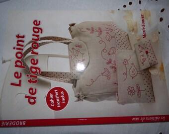 The Red Marie Suarez Saxony edition stem stitch