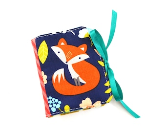 The Most Adorable Fox Scrappy Patchwork Needle Book