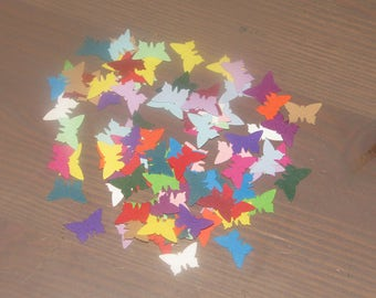 Pretty Punched Butterflies x 100 - Cardmaking, Scrap booking, Papercraft, Wedding Scatters, Invitations, Confetti