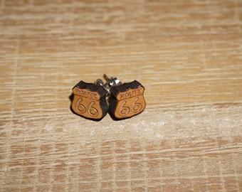 Route 66 Earrings