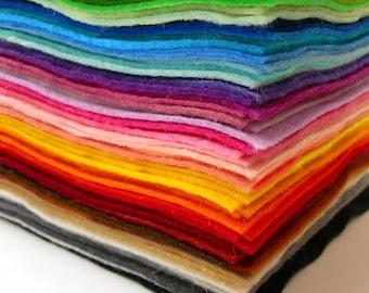 20 Felt Squares, you pick the colours