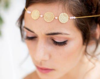 Headband - Beji - Bridal wedding headpieces - bridal headband - filigree headband - Nature - bridal hair headband - Headpiece headband