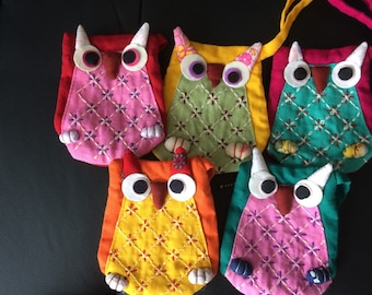 Sweet little owl change purse and card holder.