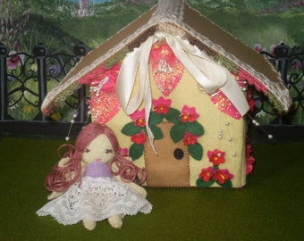 Little House And The Fairy Felt Doll Pdf Pattern