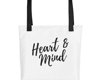 Heart & Mind Tote bag