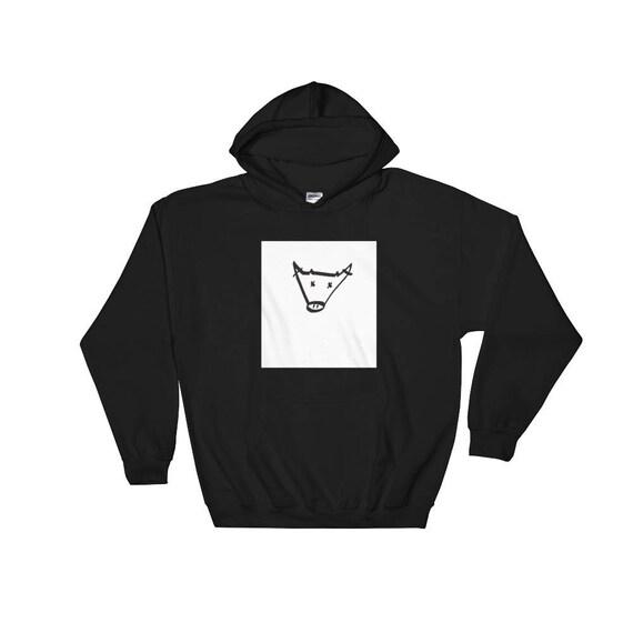 The Busted Bull: Artist Hooded Sweatshirt