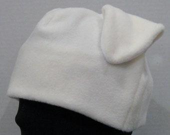Cream Labrador Floppy Dog Ear Hat - CREAM