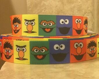5 YDS Sesame Street Ribbon