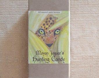 Mayan Jaguar's Hunting Candy (all natural resin incense)