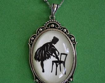 ANNA PAVLOVA Necklace - pendant on chain - Silhouette Jewelry
