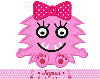 Instant Download Monster Applique Machine Embroidery Design NO:2463