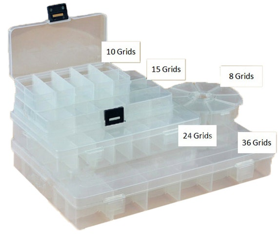 Jewellery Packaging And Bead Storage With: Items Similar To Plastic Beads Storage Containers Jewelry