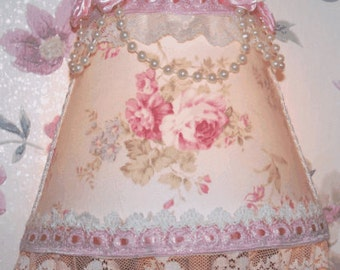 Shabby Sweet and Chic Mary Rose Fab Pink NIGHT LIGHT