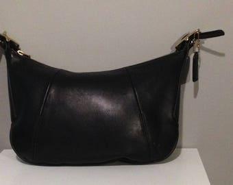 Vintage Small Black Coach Hobo Bag No. MOD-9214
